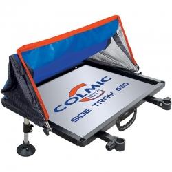 Colmic Side Tray 650 Piatto Alluminio 65 x 50 cm - Taca boczna z parawanem